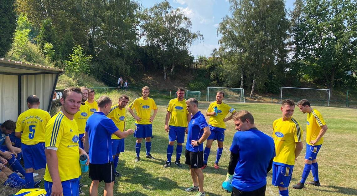 2. Testspiel mit 7:0 gegen VfB Eckersbach gewonnen