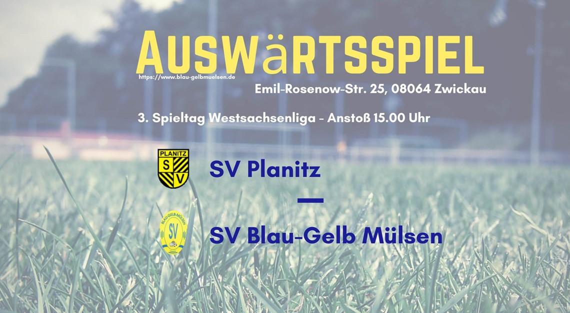 """""""Blau-Gelb"""" zu Gast beim SV Planitz"""