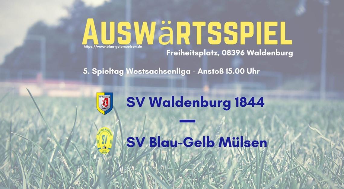 """""""Blau-Gelb"""" zu Gast beim SV Waldenburg 1844"""
