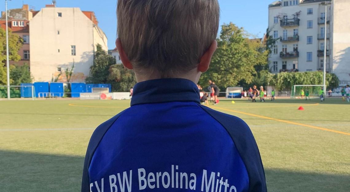 """Start für die Bero """"Mini Kicker"""" (Jahrgang 2016)"""