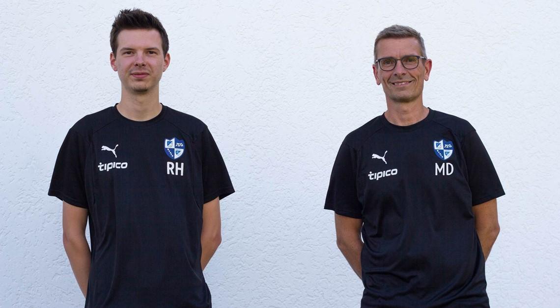 Neues Trainerduo für die U19