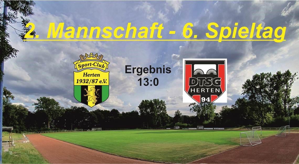 Nach 11:1 folgt 13:0 im Derby gg. DTSG Herten III!