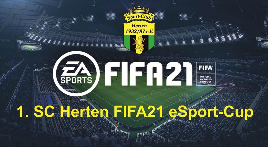 1. SC Herten FIFA21 eSport-Cup 2020!