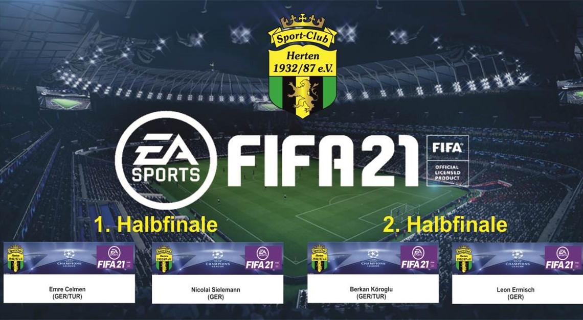 1. SC Herten FIFA21 eSport-Cup 2020 - Halbfinale!