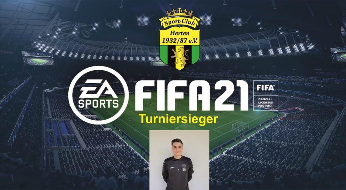 1. SC Herten FIFA21 eSport-Cup 2020 - Sieger!