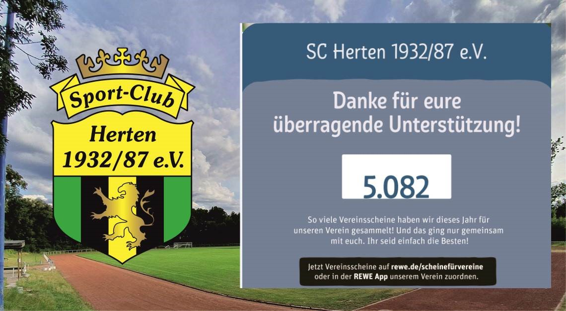 REWE Scheine für Vereine - Zwischenstand!