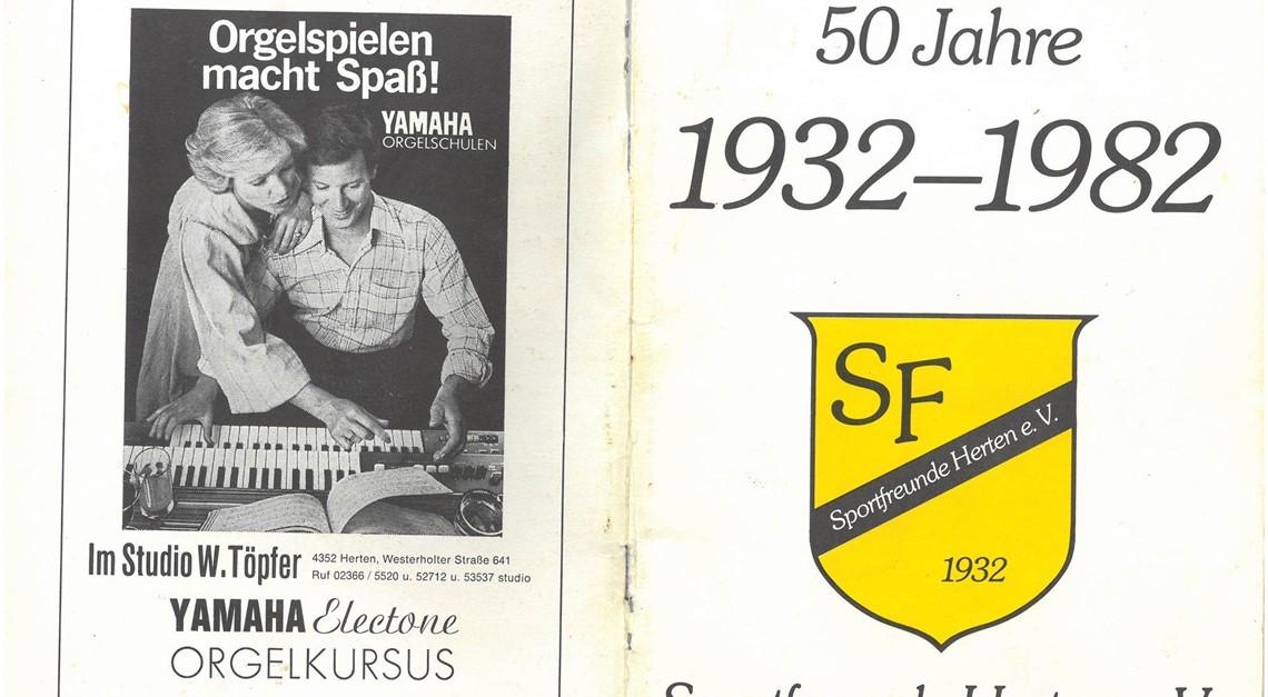 50 Jahre Sportfreunde Herten - Jubiläumsheft