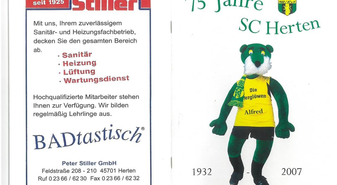 75 Jahre SC Herten - Jubiläumsheft