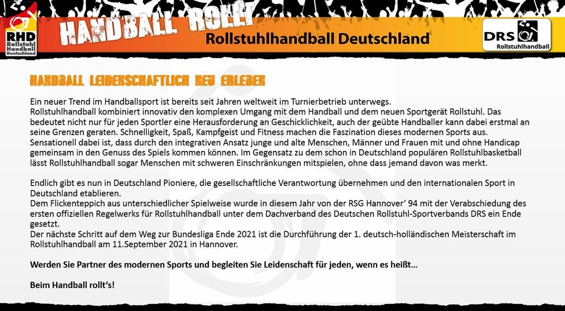 Handball leidenschaftlich neu erleben